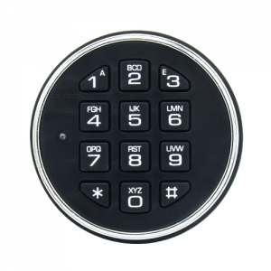 LaGard Safegard Keypad - Satin Chrome
