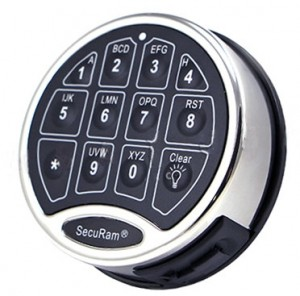 SecuRam Safelogic Backlit Surelock Keypads